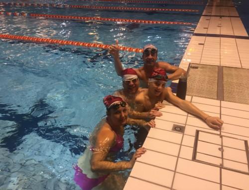 A minuit : Les Marsouins, toujours à l'eau, c'est beaaaau !!